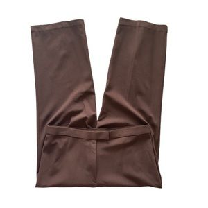 Sag Harbor Stretch Brown Dress Pants